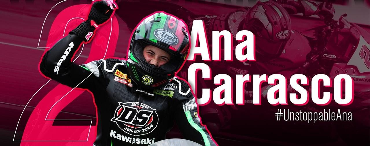 Ana Carrasco wird WorldSSP300 World Champion