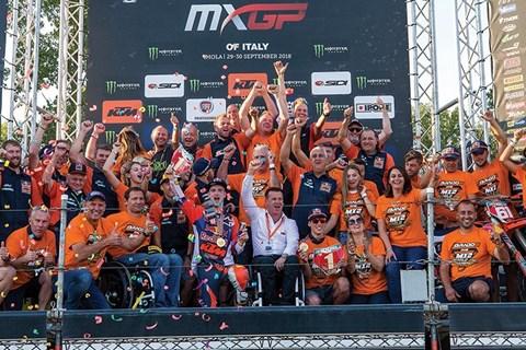 KTM und Prado feiern MX2-Motocross-Weltmeisterschaft