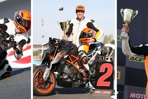 Platz 2 für Matthias Lanzinger beim Int. Bridgestone Handy Race