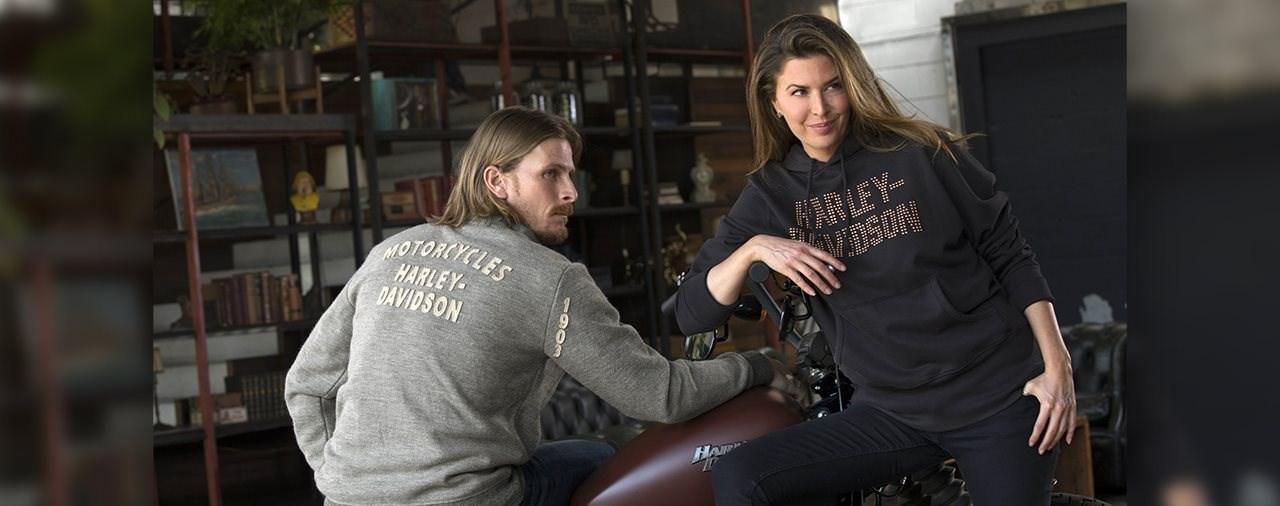 Harley-Davidson Winterfashion zu Weihnachten