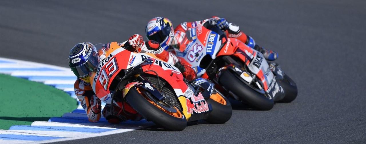 Marc Marquez ist MotoGP-Weltmeister 2018!
