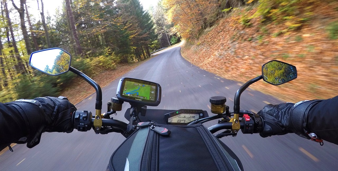 TomTom Rider 550 Navigationssystem im Test