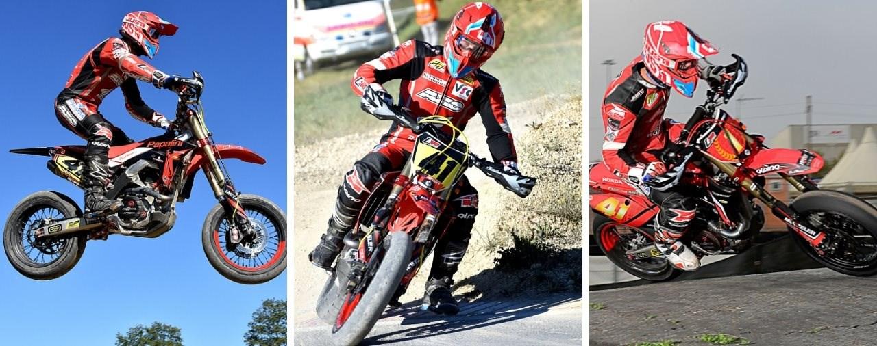 Supermoto IDM: Top-Fahrer 2018 setzen auf den METZELER RACETEC SM