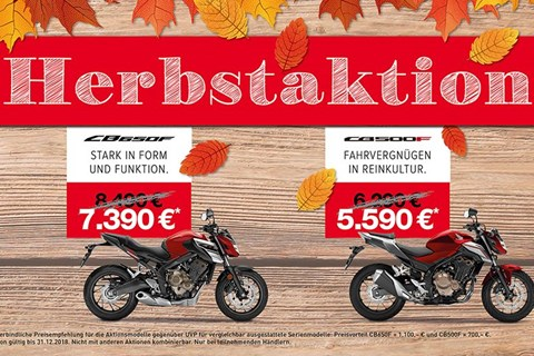 HONDA Herbstaktion 2018