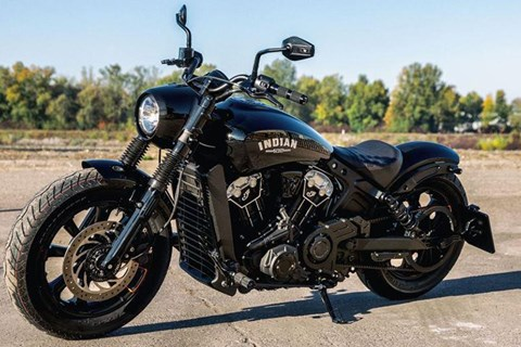 Indian Scout Bobber Umbau von Wunderkind-Custom