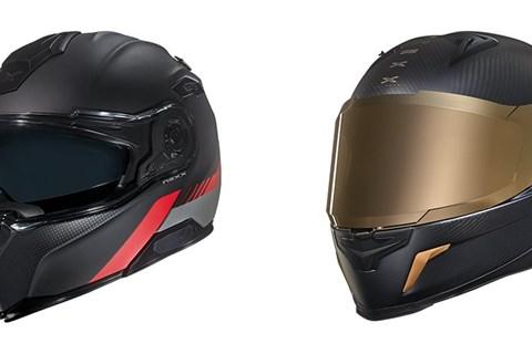 NEXX Helm Neuheiten: X.R2 Gold Edition und X.Vilitur