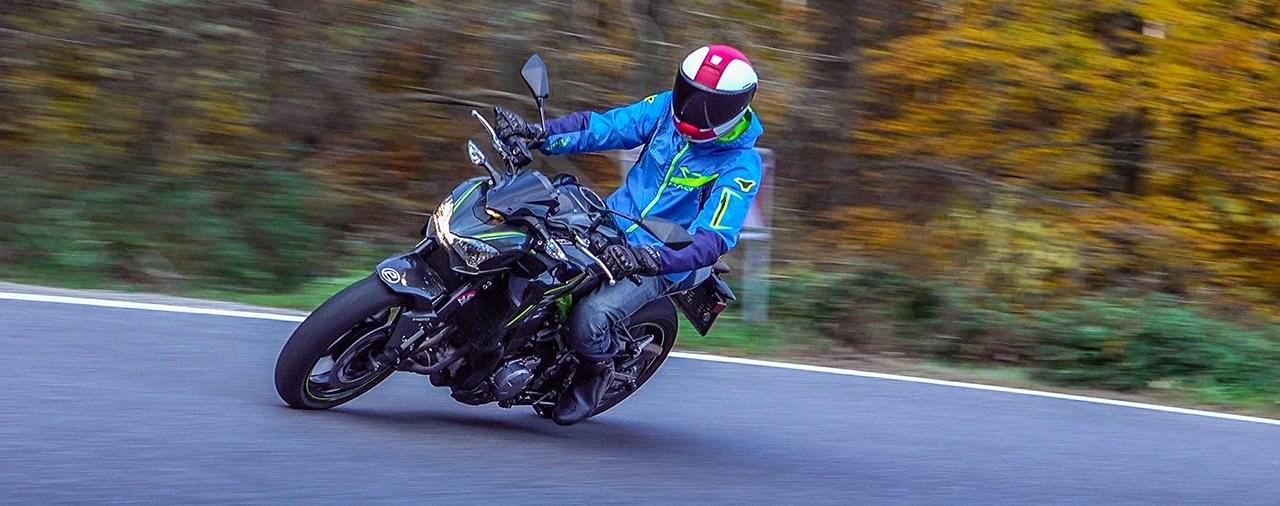 Kawasaki Z900 70 kW Test
