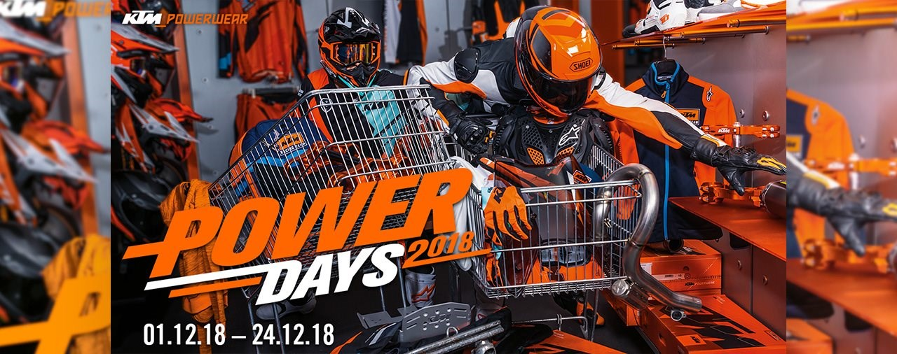 KTM POWER DAYS 2018