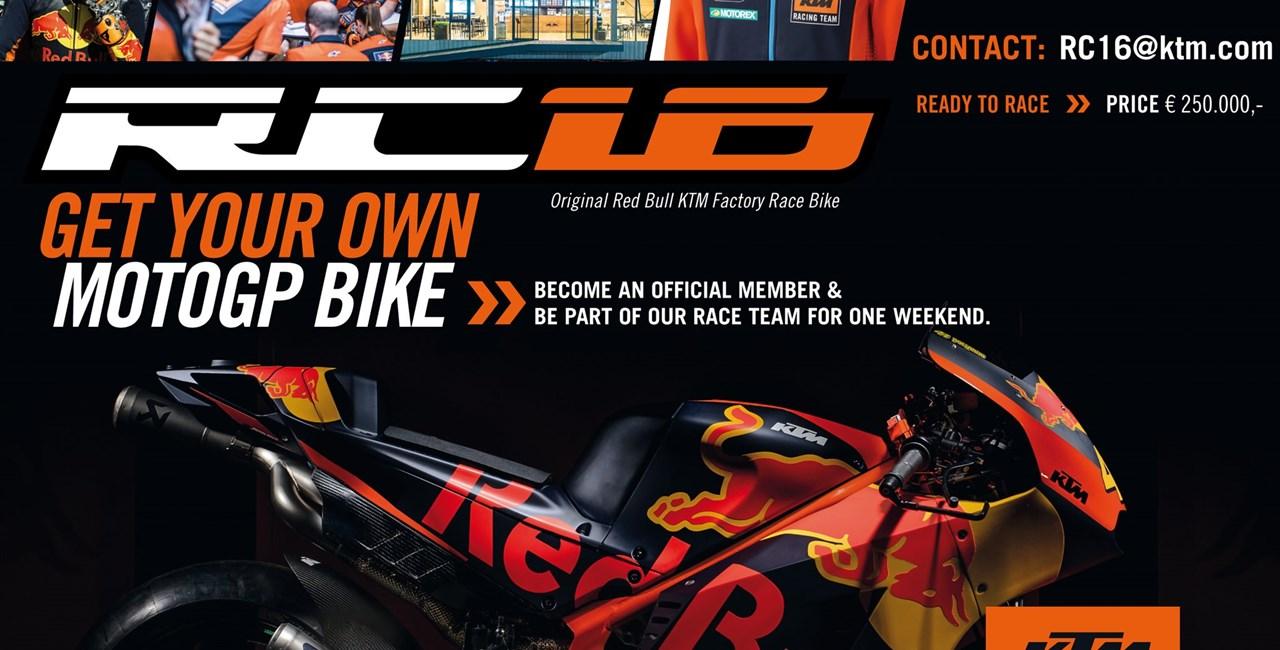 KTM RC16 - Kaufe das MotoGP Bike!