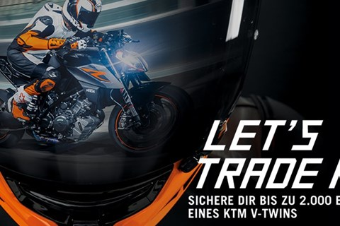 KTM - Let's Trade Keys Aktion