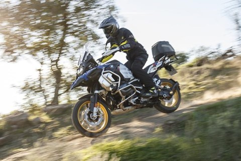 (Offroad-) Test der neuen BMW R 1250 GS Adventure 2019 in Spanien