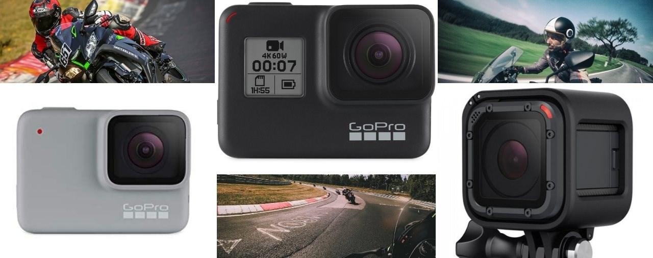 GoPro Motorrad Vergleich