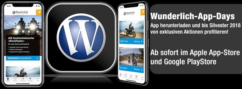 Die Wunderlich App-Days - Jetzt Bonus sichern!