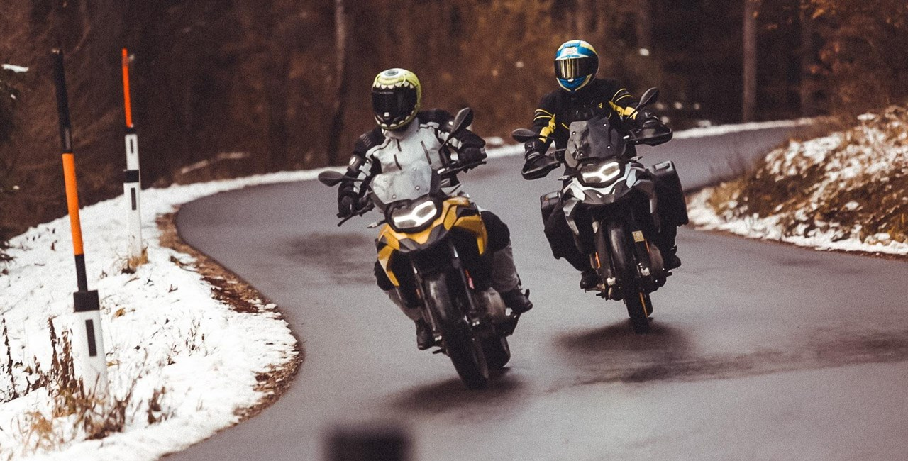 BMW F 850 GS vs. F 750 GS Wintertest 2018