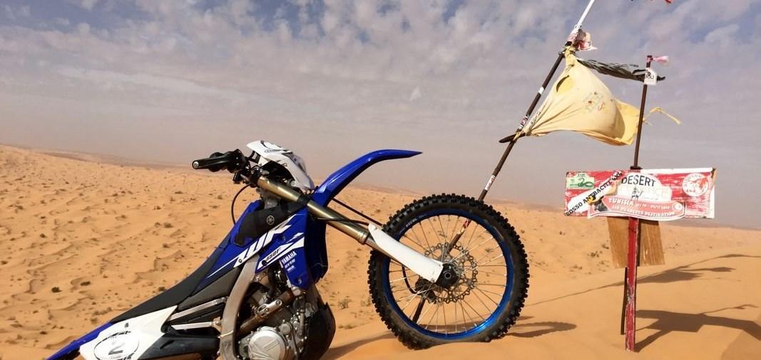 Yamaha WR 450 F im Wüstentest