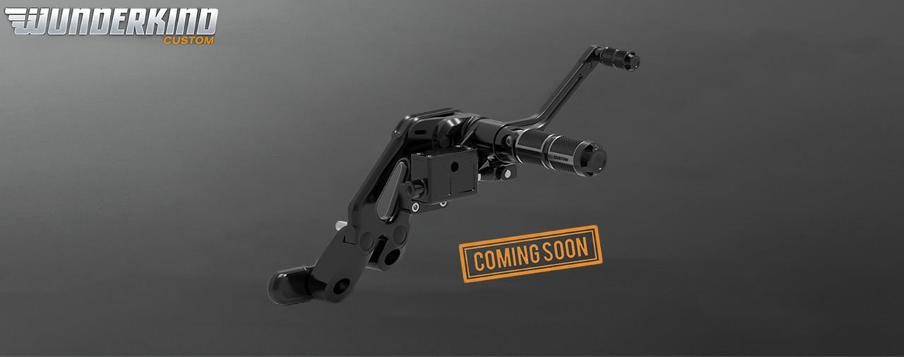 Vorverlegte Fußrastenanlage für Harley Softail Modelle ab 2018