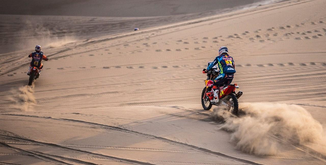 Dakar 2019 9. Etappe – KTM und Husqvarna kämpfen um den Sieg