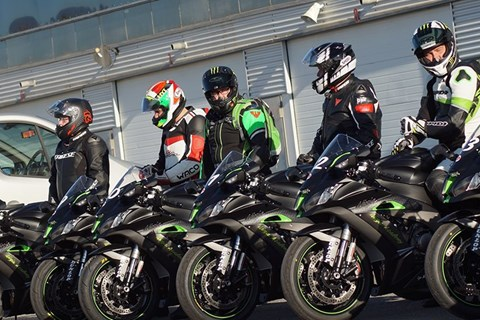 NINJA ACADEMY: Kawasaki Trainingscamp für Jedermann