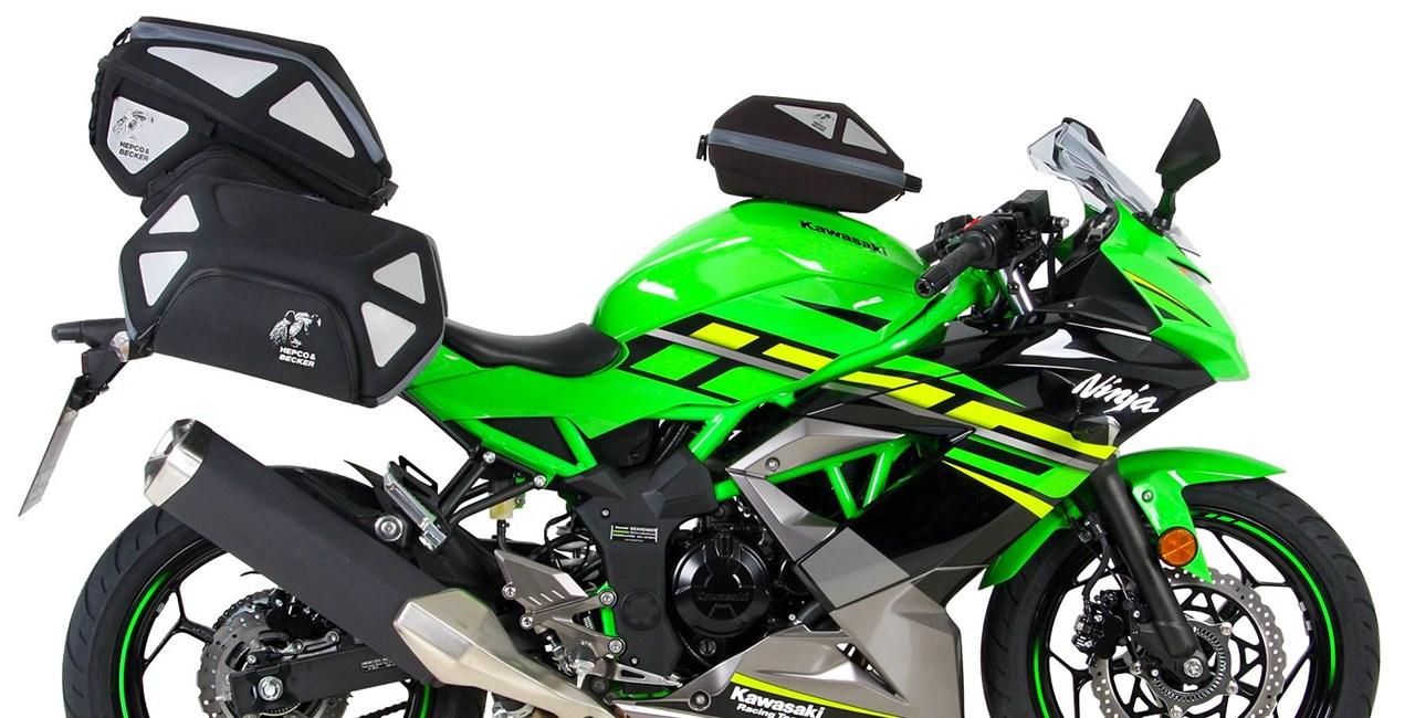 Hepco&Becker Zubehör für die neue Kawasaki Ninja 125