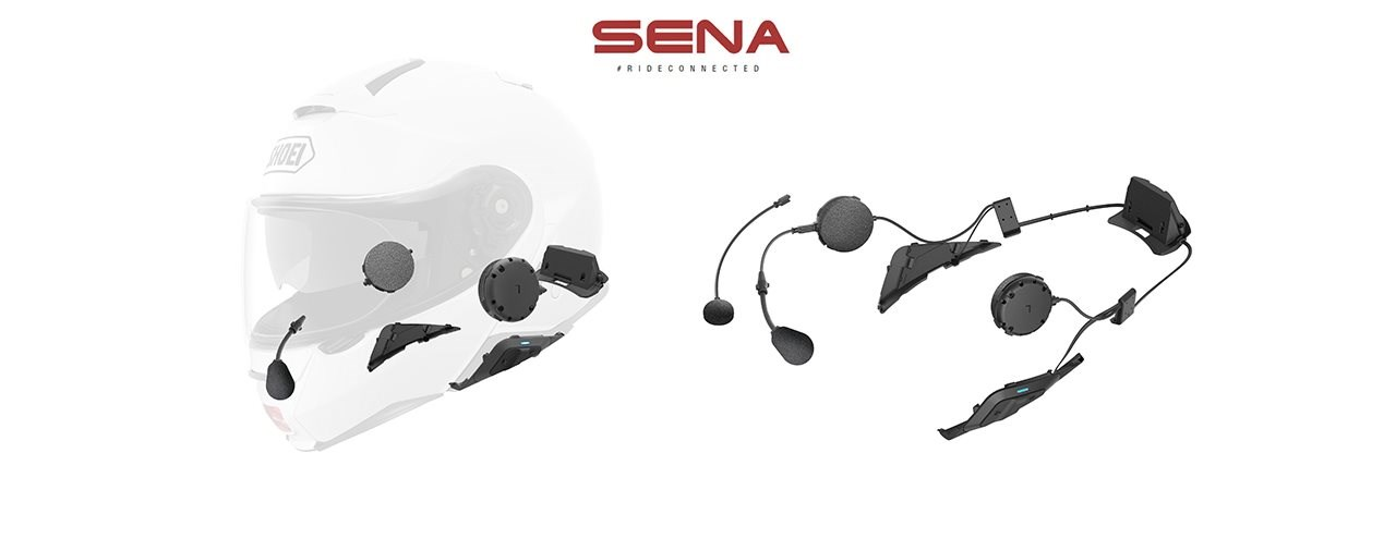 Neues SENA SRL2 System für den Shoei GT-Air II