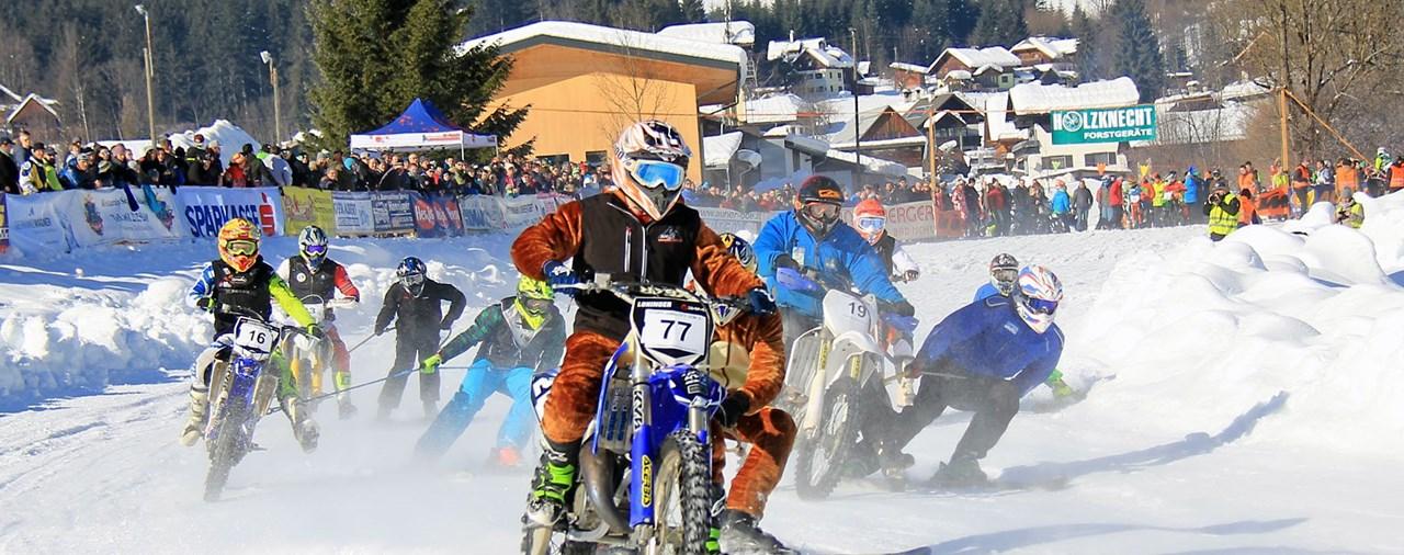 7. Holzknecht-Skijöring in Gosau am 9.2.2019
