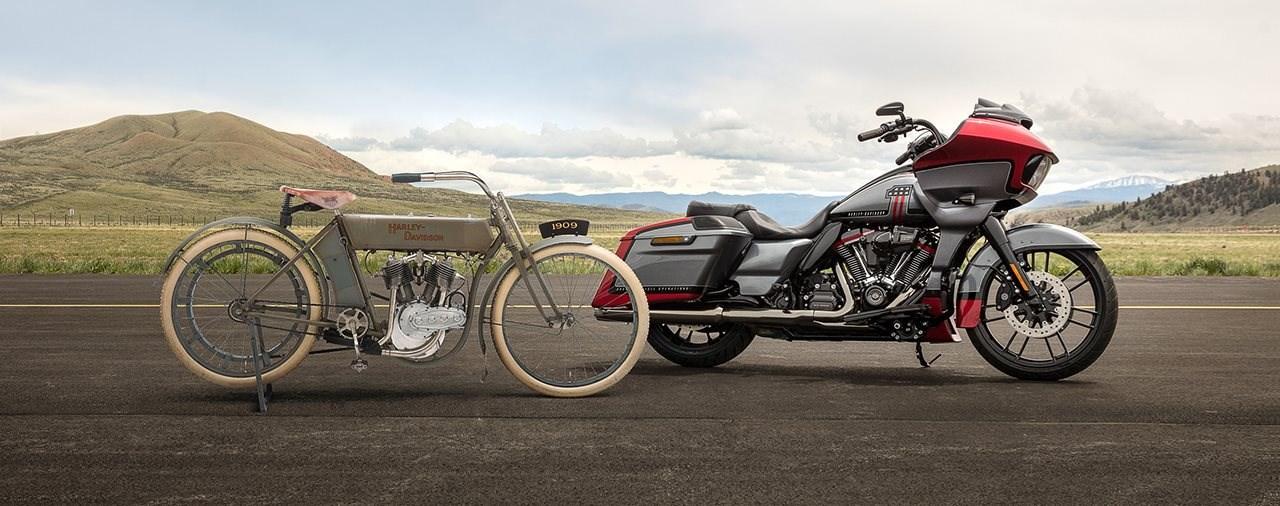 Born in the USA - Harley Davidsons V2 ist 110 Jahre alt