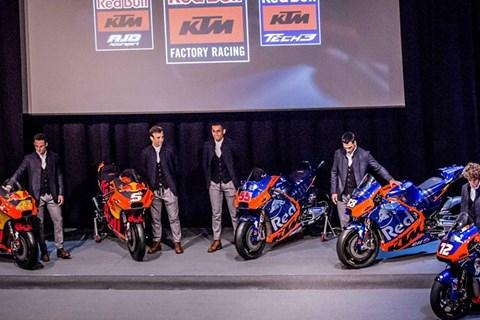 KTM präsentiert die MOTOGP Bikes für 2019