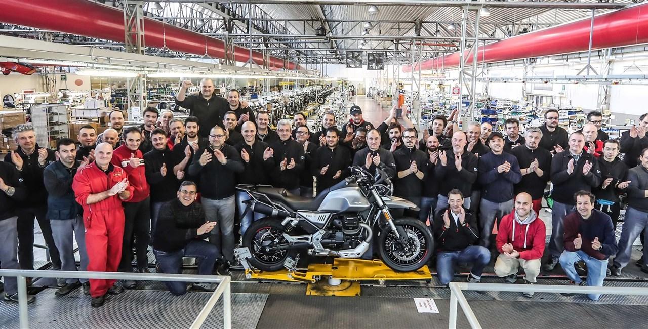 MOTO GUZZI V85 TT - ab Anfang März 2019 im Handel