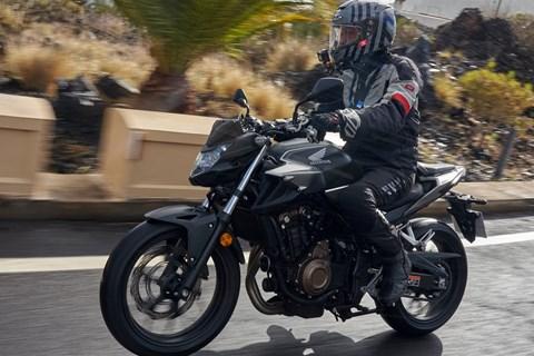 Honda CB500F 2019 Test
