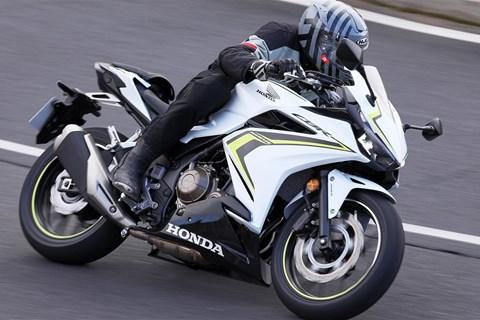 Honda CBR500R 2019 Test
