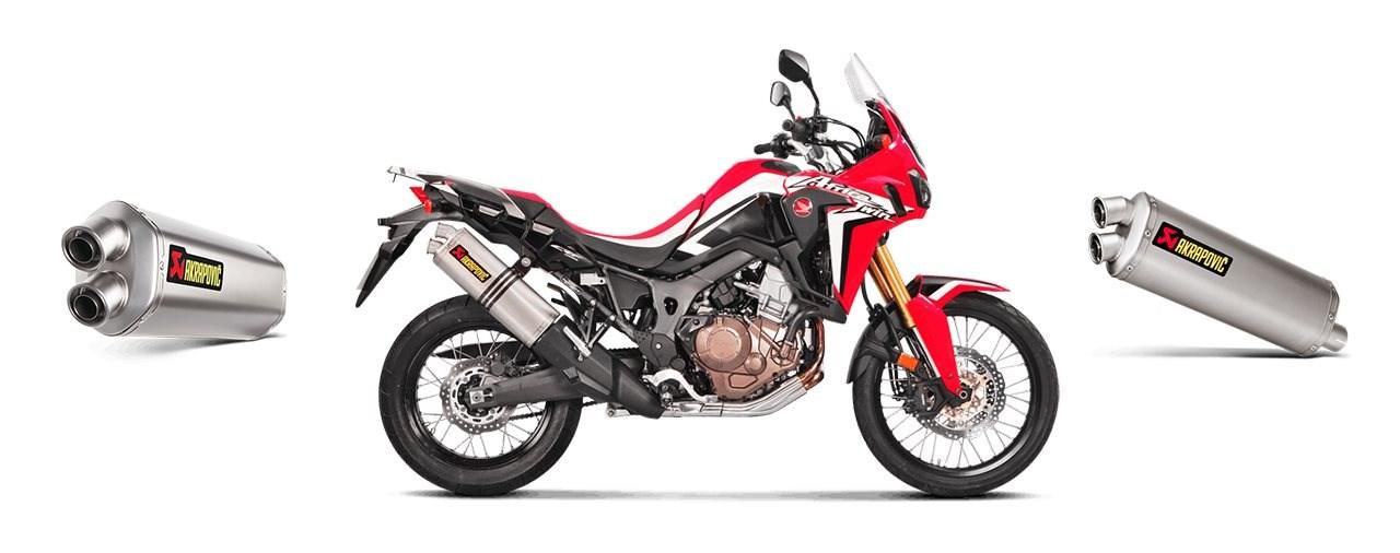 Akrapovic für die Honda CRF1000L Africa Twin 2019