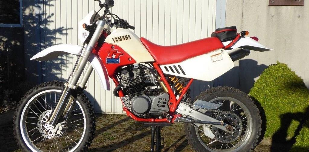 Yamaha TT 350 Restaurierung