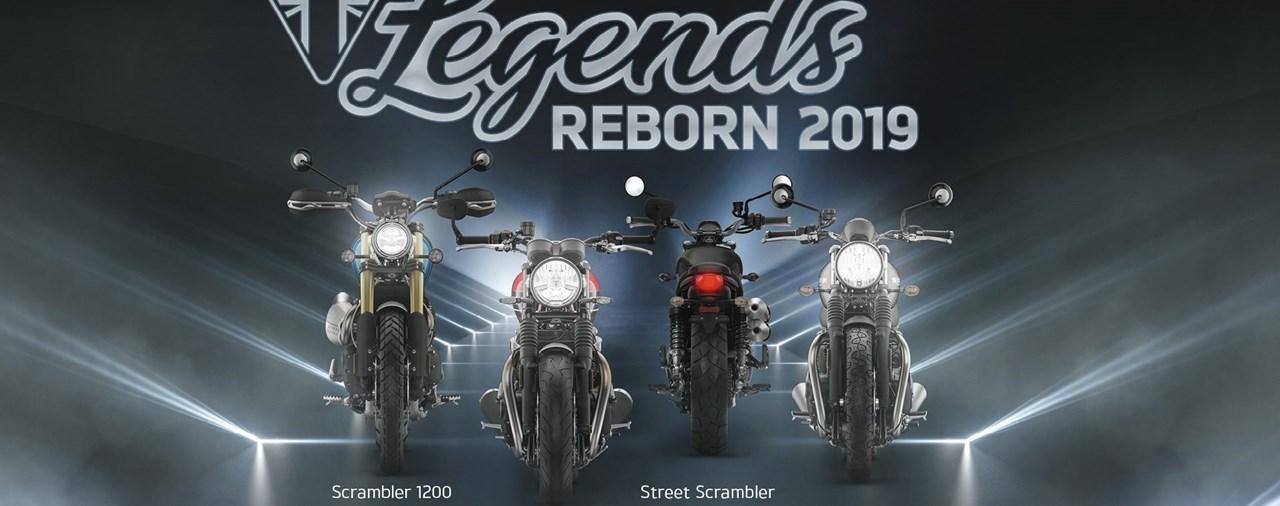 Triumph Legends Reborn 2019 Probefahrten