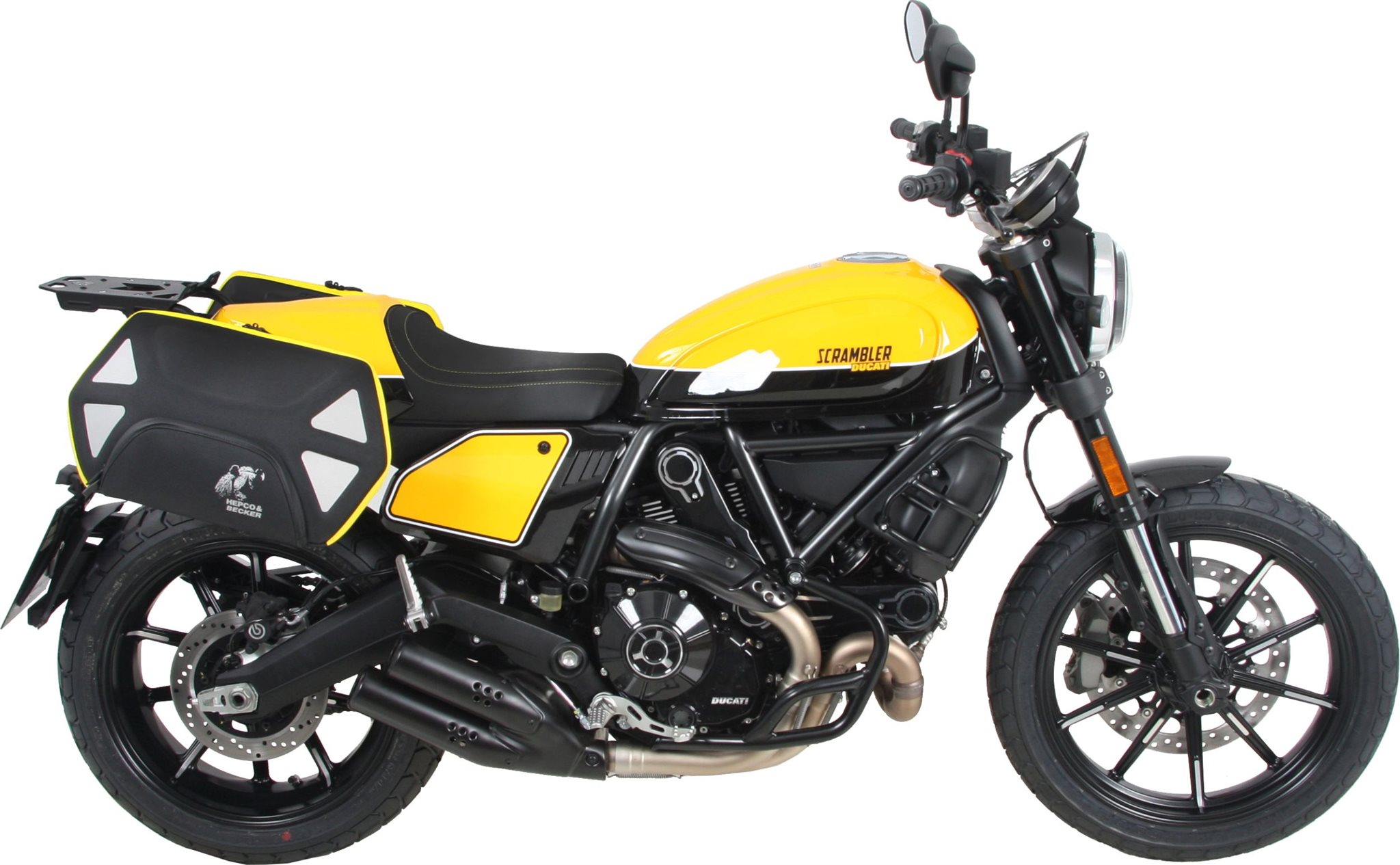 hepco becker zubeh r f r die ducati scrambler 800 bj 19. Black Bedroom Furniture Sets. Home Design Ideas