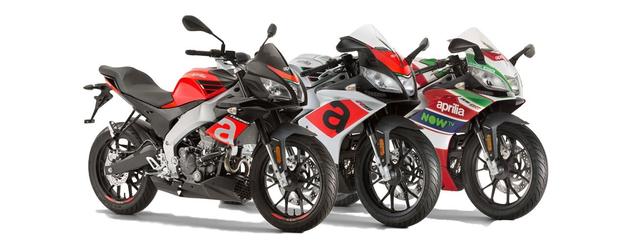 Aprilia senkt die Preise für Tuono 125, RS 125 und RS 125 Replica