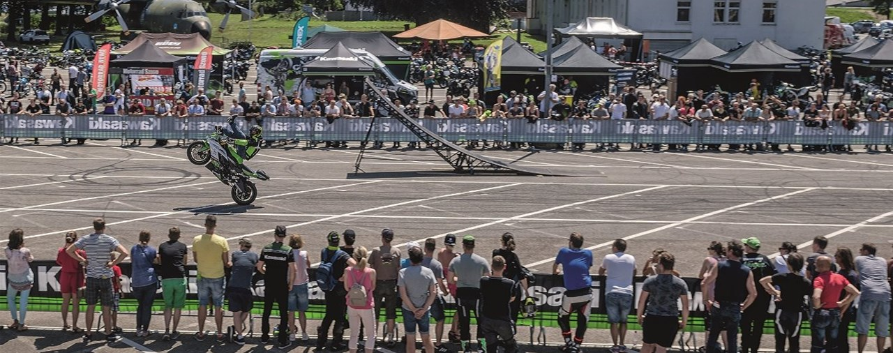 DIE KAWASAKI DAYS 2019 AM TECHNIK MUSEUM SPEYER
