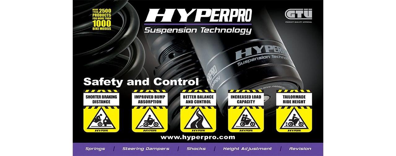 Hyperpro Produkt Update STREETBOX YAMAHA MT-07