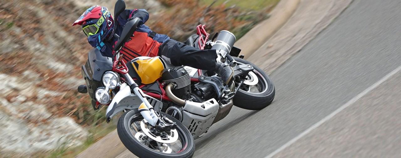 Moto Guzzi V85 TT 2019 Test