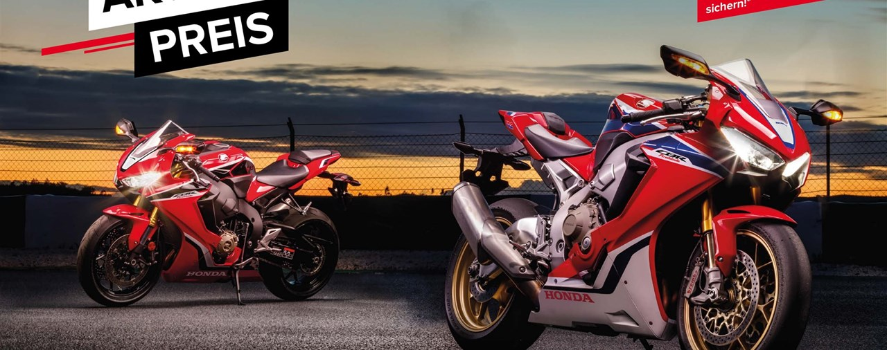 Honda CBR1000RR Fireblade Aktion!