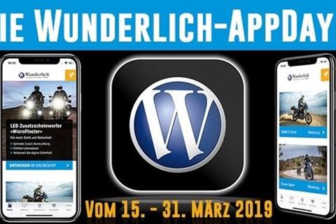Die Wunderlich-AppDays: Gewinne im Wert von über 10.000 Euro!