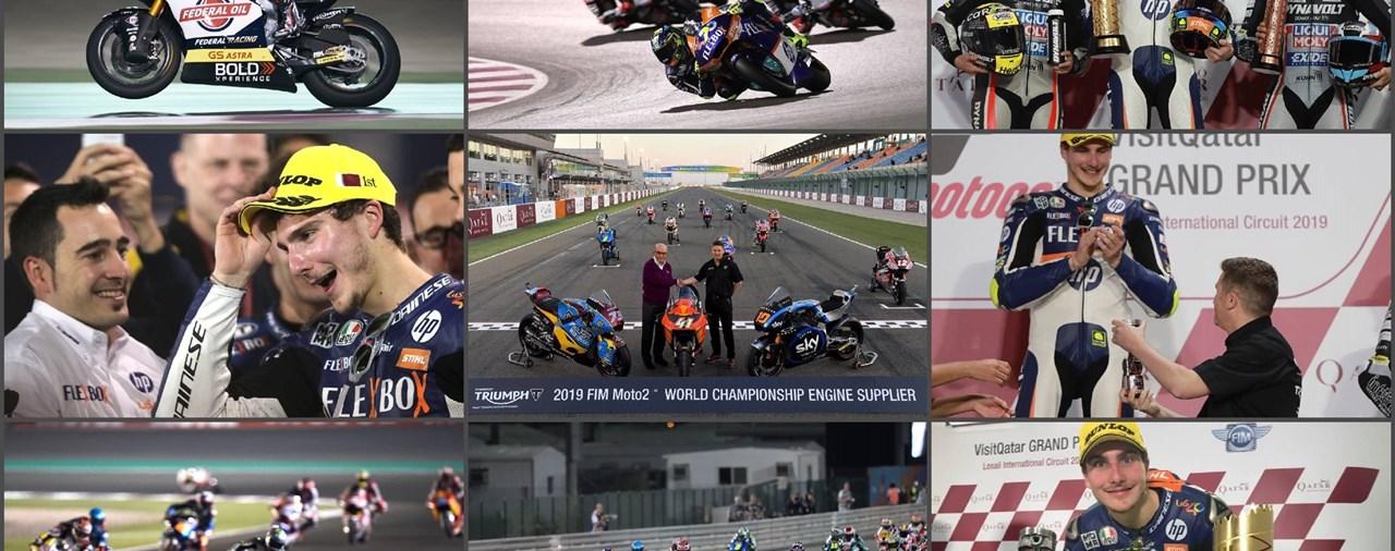 Neue Moto2-Rekorde mit TRIUMPH-Power