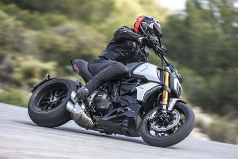 Ducati Diavel 1260 S Test