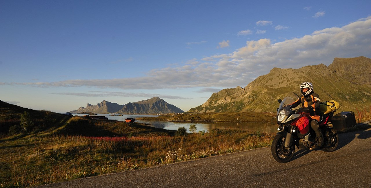 Die besten Routen für eine Motorradtour ans Nordkap