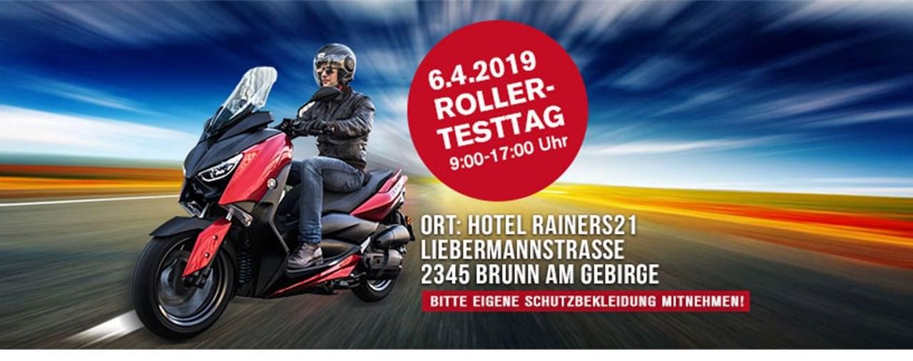 Yamaha Rainer Rollertesttag am 6.4.2019