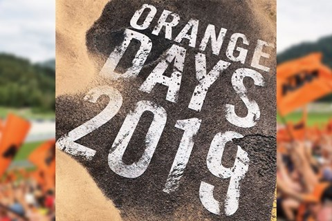 KTM ORANGE DAY am 6. April 2019