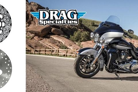 Drag Specialties Performance-Bremsscheiben für Harley-Davidson