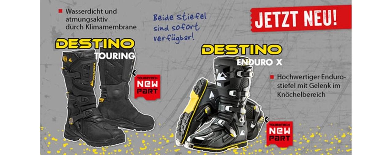 Touratech DESTINO Touring und DESTINO EnduroX