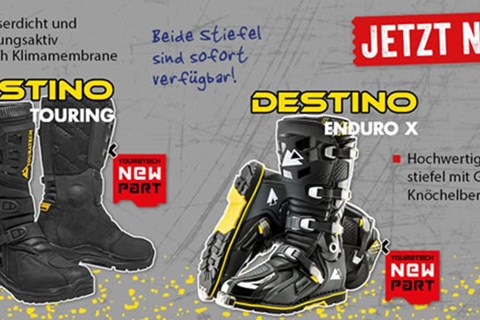 Touratech DESTINO Touring und DESTINO EnduroX