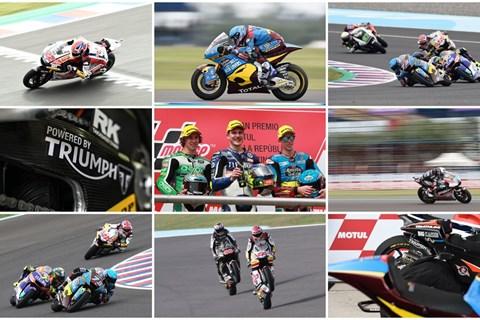 Neue Moto2 Rundenrekorde mit TRIUMPH-Power