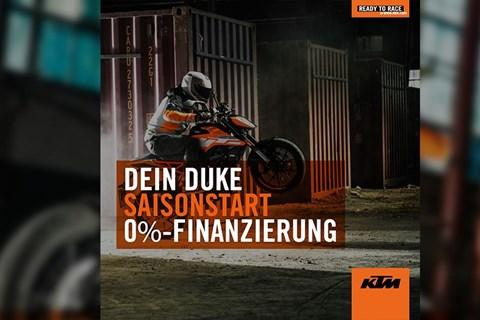 KTM Sonderaktion zum Saisonbeginn 2019
